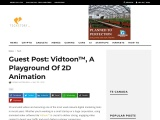 Guest Post: Vidtoon™, A Playground Of 2D Animation