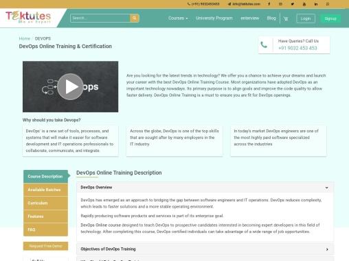 best devops online training in hyderabad