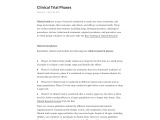 Clinical Trial Phases and Best Clinical Research Training