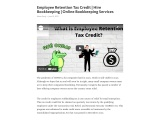 How does the Employee Retention Credit work?