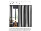 7 Most Elegent Styles Of Curtains – Decor La Rouge – Interior Design Service