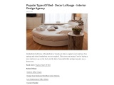 Different Types Of Beds Of Every Style   Decor La Rouge   Interior Design Agency