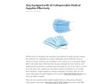 Stay Equipped with all Indispensable Medical Supplies Effectively