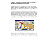 Vehicle Tracking GPS Device: Improve Safety & Profitability while Reducing Costs