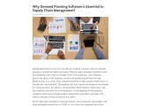 Why Demand Planning Software is Essential to Supply Chain Management?