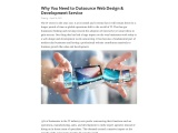 Why You Need to Outsource Web Design & Development Service