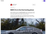 The new BMW i4 will soon be ready