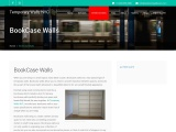 built in bookcase walls – Temporary Walls NYC