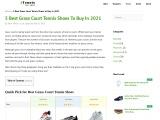 Best Grass Court Tennis Shoes 2021