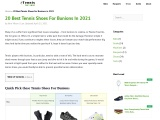 20 Best Tennis Shoes for Bunions in 2021