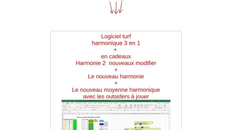 1 logiciel harmonique 3 en un