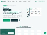 Unified, cloud-based automation testing tool for DevOps