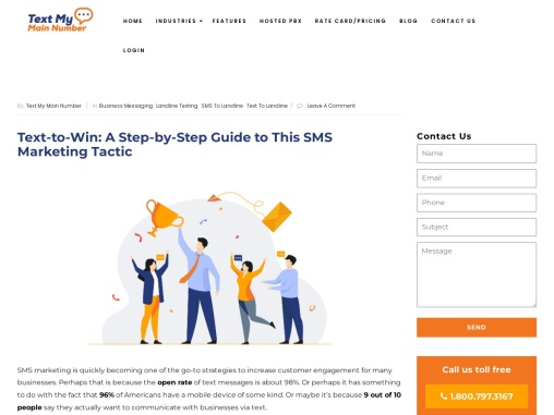 Text-to-Win: A Step-by-Step Guide to This SMS Marketing Tactic