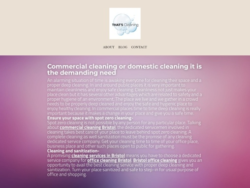 Commercial cleaning or domestic cleaning it is the demanding need