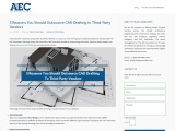 3 Reasons You Should Outsource CAD Drafting to Third-Party Vendors