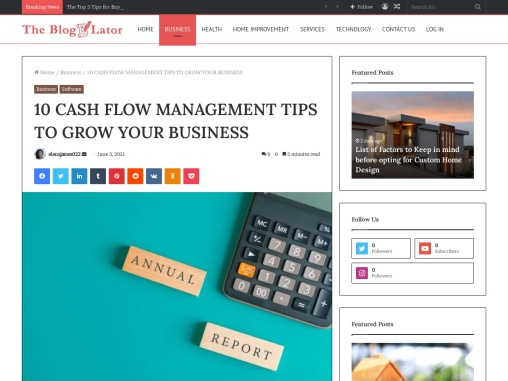 10 CASH FLOW MANAGEMENT TIPS TO GROW YOUR BUSINESS