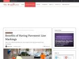 Benefits of Having Pavement Line Markings
