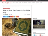How to Read The Quran in The Right Way