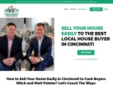 Sell House to Cash Home Buyers in Cincinnati