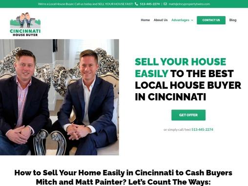 Sell House to Cash Home Buyers in Cincinnati