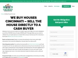 Sell My House for Cash in Cincinnati