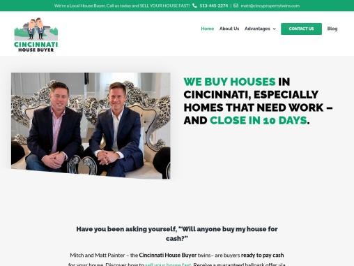 House Buyers for Cash in Cincinnati, Ohio