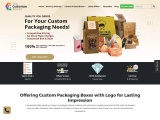 Cannabis Tinctures Packaging | TheCustomizeBoxes