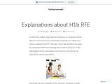 Explanations about H1b RFE-thedegreepeople