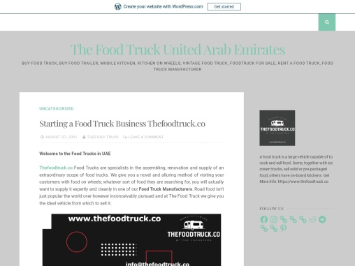 Starting a Food Truck Business Thefoodtruck.co