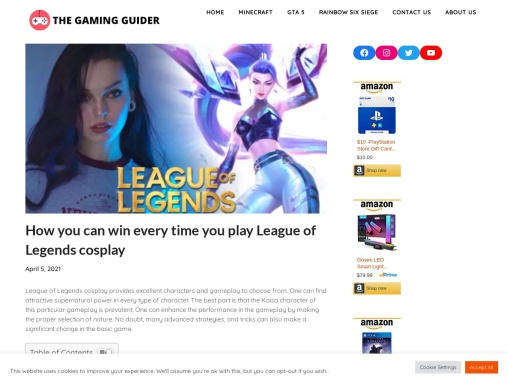 How you can win every time you play League of Legends cosplay