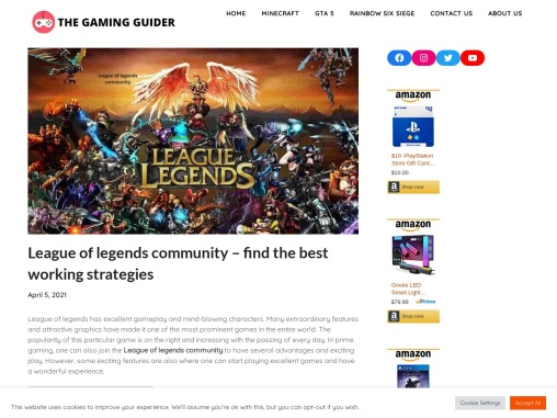 League of legends community – find the best working strategies