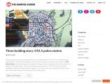 Three building story: GTA 5 police station