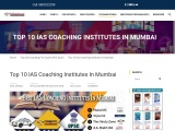 Top 10 IAS Coaching In Mumbai | Best UPSC Coaching In Mumbai 2021