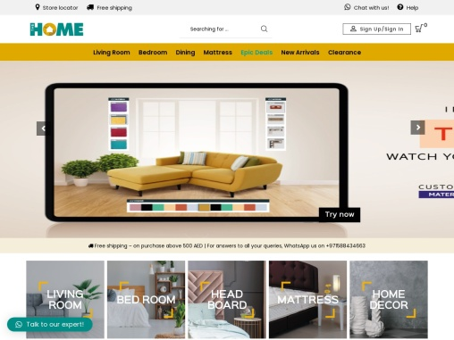 Custom furniture Dubai | Furniture Sharjah – TheHome