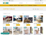 Buy Coffee Tables Online  | TheHome Dubai