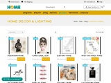 Buy home décor and lighting online from Thehome Dubai