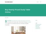 Study Table made by The Home Dekor