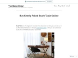 Lowe Extension Study Table- The Home Dekor