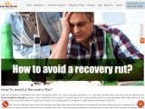 How to avoid a Recovery Rut? | Alcohol addiction treatment