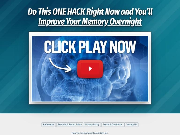 Memory Hack screenshot