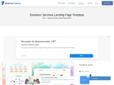 Business Services Landing Page Template