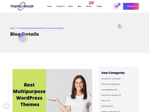 Best Multipurpose Responsive WordPress Themes