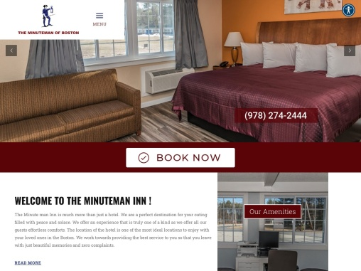 Discount Motels Rooms in Acton MA
