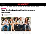What Are The Benefits of Social Commerce For Brands