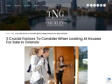 3 Crucial Factors To Consider When Looking At Houses For Sale In Orlando