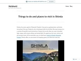 Things to do and places to visit in Shimla