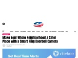 Make Your Whole Neighborhood a Safer Place with a Smart Ring Doorbell Camera
