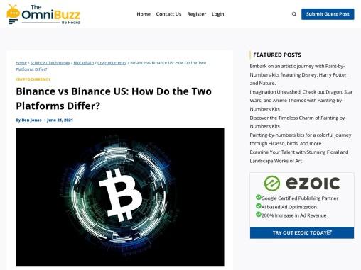 Binance vs Binance US: How Do the Two Platforms Differ?