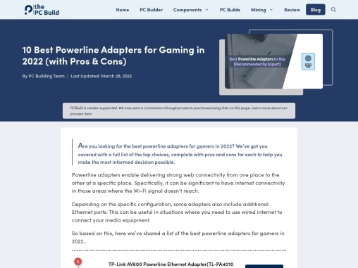 10 Best Powerline Adapters in 2021 [Recommended by Expert]