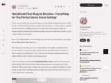 Handmade Floor Rugs to Benches – Everything for The Perfect Home Decor Setting!